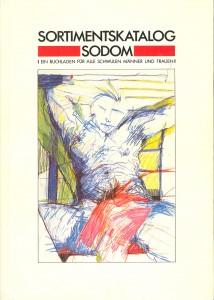 """Katalog der Buchhandlung """"Sodom"""" aus München von 1984"""