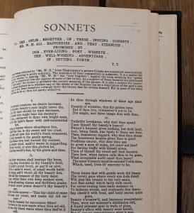 Sonette von Shakespeare
