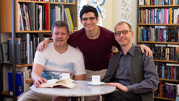 Jürgen, Amer und Veit - die Löwenherzen 2018