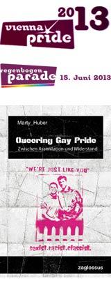 Pride Village - Lesung mit Marty Huber - Regenbogenparade