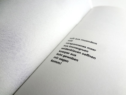 Marc Damm: 8 Gedichte