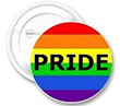 Button: Kleiner Regenbogen-Button PRIDE